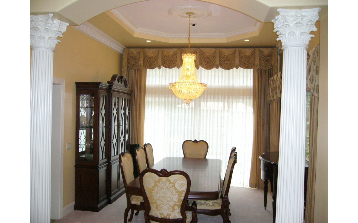 4 Great Color Options for Interior Columns