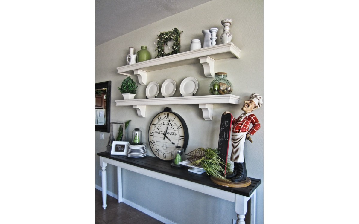 7 Easy Steps to Making a Crown Molding Shelf