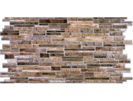 Wall Panels for Interior Wall Decor - Textured PVC 3D Wall Tile (37x18 in, 4.8 sq.ft.) - 001 BF
