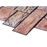 Wall Panels Wall Panels for Interior Wall Decor - Textured PVC 3D Wall Tile (37x18 in, 4.8 sq.ft.) - 001 CY