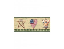 Prepasted Wallpaper Borders - Faith And Angel Wall Paper Border 006184 BV