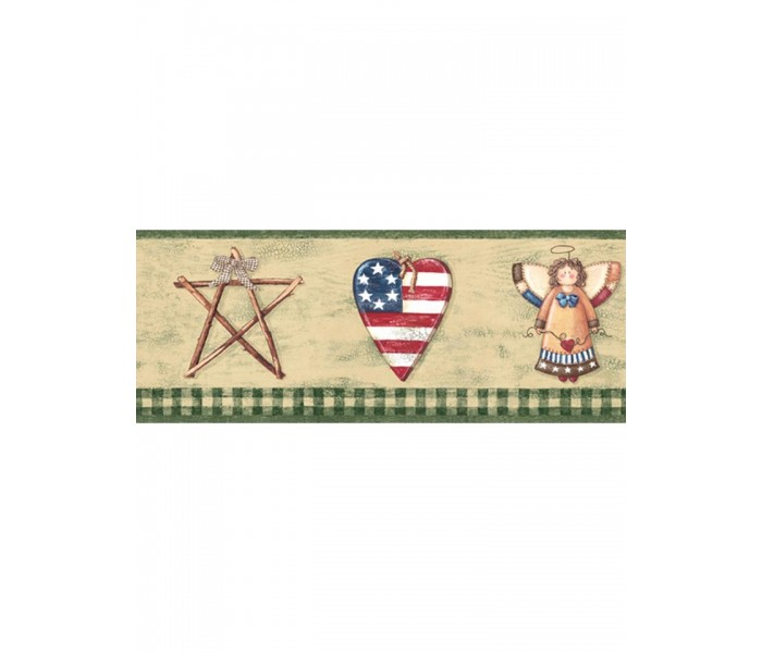 Clearance: Faith And Angel Wallpaper Border 006184 BV