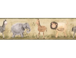 Prepasted Wallpaper Borders - Kids Wall Paper Border 0106 YK