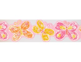 Prepasted Wallpaper Borders - Kids Wall Paper Border 0135 YK