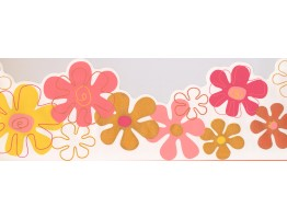 Prepasted Wallpaper Borders - Kids Wall Paper Border 0145 YK