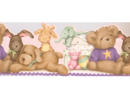 Prepasted Wallpaper Borders - Kids Wall Paper Border 0170 YK