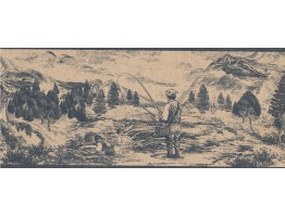 Country Wallpaper Border 018133 PT