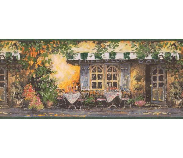 Garden Borders Nature Wallpaper Border 022174 EG York Wallcoverings