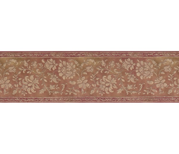Clearance Floral Wallpaper Border 052161 VC