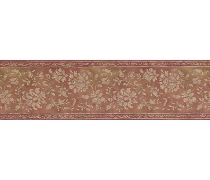 Clearance: Floral Wallpaper Border 052161 VC