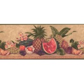 Garden Wallpaper Borders: Fruits Wallpaper Border 0567 AW