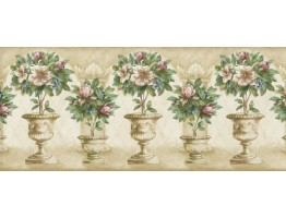 Prepasted Wallpaper Borders - Graden Wall Paper Border 060144 MP