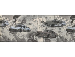 Prepasted Wallpaper Borders - Cars Wall Paper Border 062202 CK