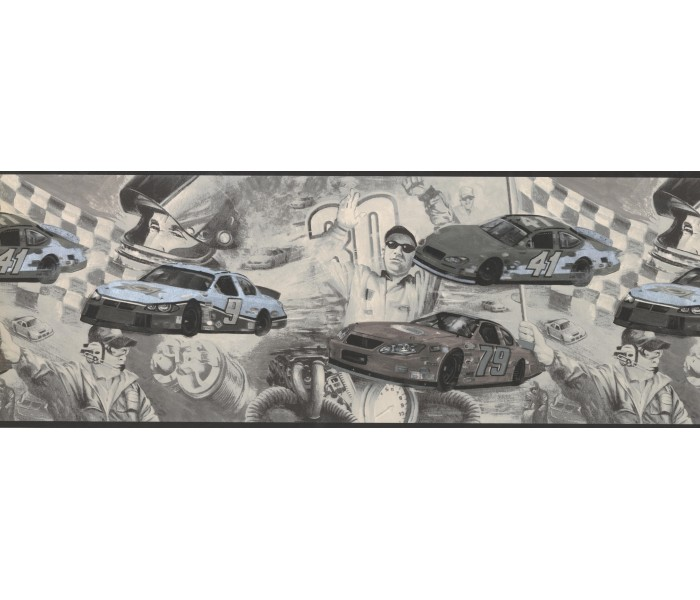 Clearance: Cars Wallpaper Border 062202 CK