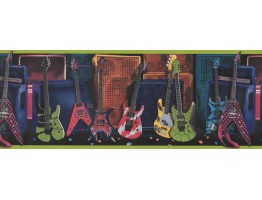 Guitar Wallpaper Border 075131 FB