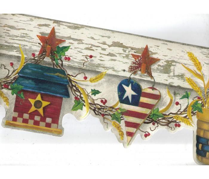Country Wallpaper Borders: Country Wallpaper Border 08121 AAI