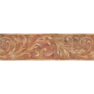 7 in x 15 ft Prepasted Wallpaper Borders - Vintage Wall Paper Border 1053 WT