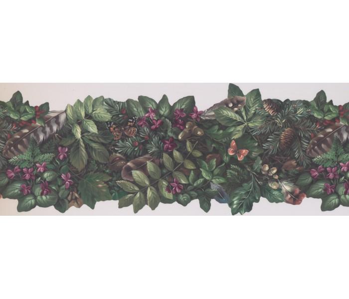 Clearance: Garden Wallpapaper Border 105474 NE