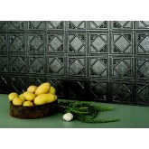 Wall Panels: Backsplash Tiles  - Decorative Thermoplastic Tile 18 X 24 Artnouvo Paintable