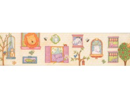 Prepasted Wallpaper Borders - Kids Wall Paper Border 110002