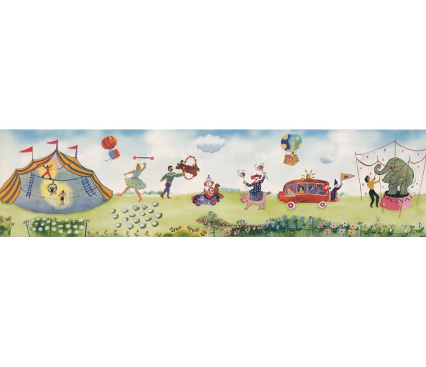 Nursery Wallpaper Borders: Kids Wallpaper Border 110033