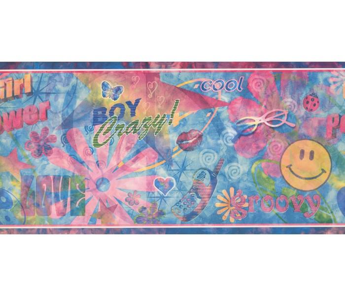 Nursery Wallpaper Borders: Kids Wallpaper Border 110044