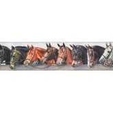 Horses Wallpaper Borders: Horse Wallpaper Border 110222