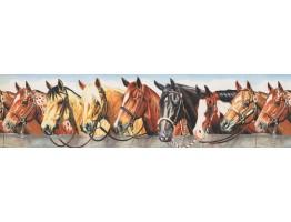 Horse Wallpaper Border 110223