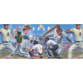 Baseball Wallpaper Borders: Baseball Wallpaper Border 110224