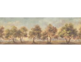 Tree Wallpaper Border 121179
