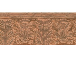 Prepasted Wallpaper Borders - Abstract Wall Paper Border 1222 PZ