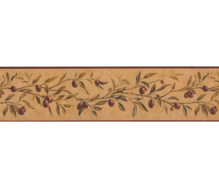 Garden Wallpaper Borders: Fruits Wallpaper Border 12522 KBE