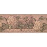 Floral Wallpaper Borders: Floral Wallpaper Border 1268 SY