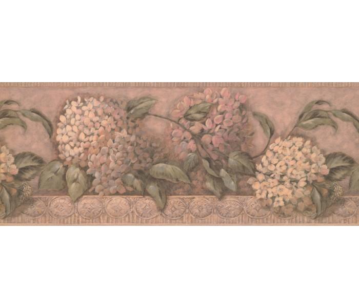 Floral Wallpaper Borders: Floral Wallpaper Border 1268 SY