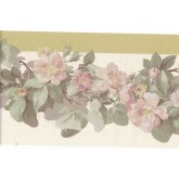 Floral Borders Flower Wallpaper Border 128B55907 Fine Art Decor Ltd.