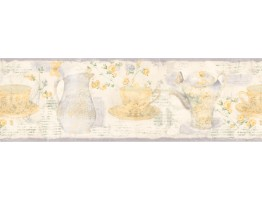 Prepasted Wallpaper Borders - Kitchen Wall Paper Border 128B59922