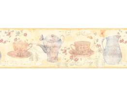 Prepasted Wallpaper Borders - Kitchen Wall Paper Border 128B59923