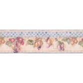 Garden Wallpaper Borders: Fruits Wallpaper Border 1293 SY