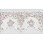 Floral Borders Flower Wallpaper Border 136B69574SB Fine Art Decor Ltd.