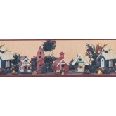Bird Houses Birds House Wallpaper Border 144202 York Wallcoverings