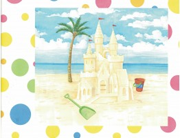 Beach Wallpaper Border 144B87703