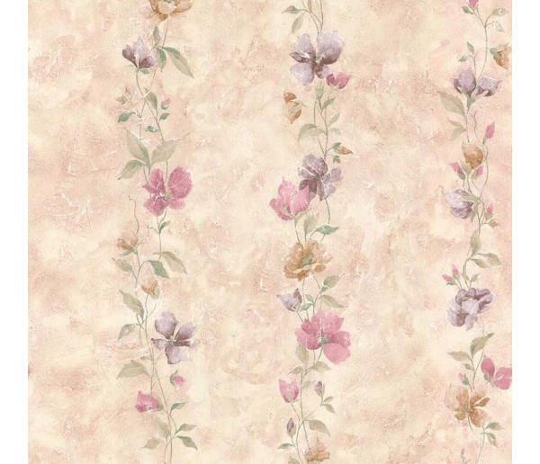 Floral Floral Wallpaper 15787 S.A.MAXWELL CO.