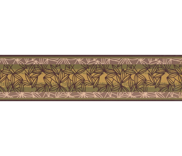 Garden Wallpaper Borders: Floral Wallpaper Border 1684 BG
