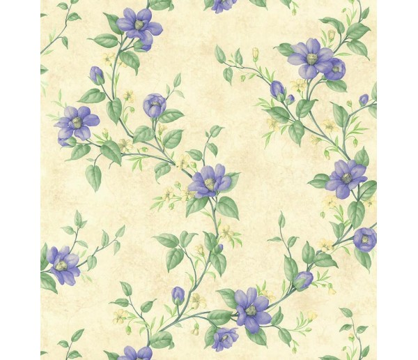 Floral Floral Wallpaper 19104 S.A.MAXWELL CO.