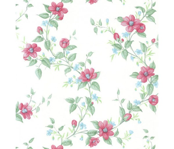 Floral Floral Wallpaper 19105 S.A.MAXWELL CO.
