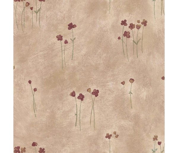 Floral Floral Wallpaper 20958 S.A.MAXWELL CO.
