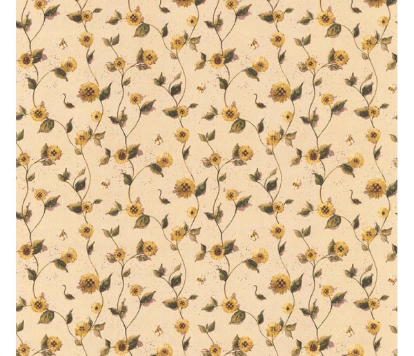 Floral Floral Wallpaper 21470 S.A.MAXWELL CO.