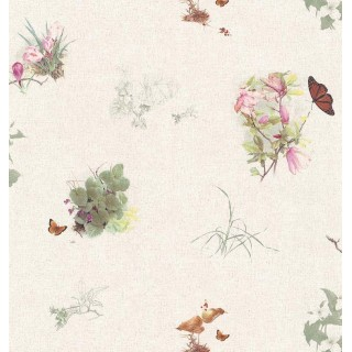 20 1/2 in x 15 ft Prepasted Wallpaper Borders - Butterfly Wall Paper Border GL21616