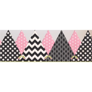 8 1/2 in x 15 ft Prepasted Wallpaper Borders - Kids Wall Paper Border 2288 KS