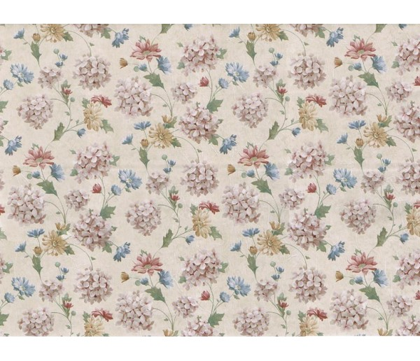 Floral Floral Wallpaper 23412 S.A.MAXWELL CO.